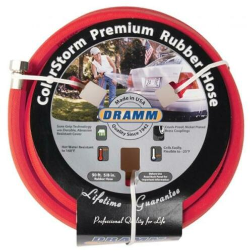 Dramm Corporation .63in X 50ft Red ColorStorm Premium Rubber Hose 10-17001