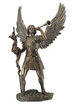 Angel Statue St Saint Gabriel Messenger of God Miniature Figurine #WU76268AP