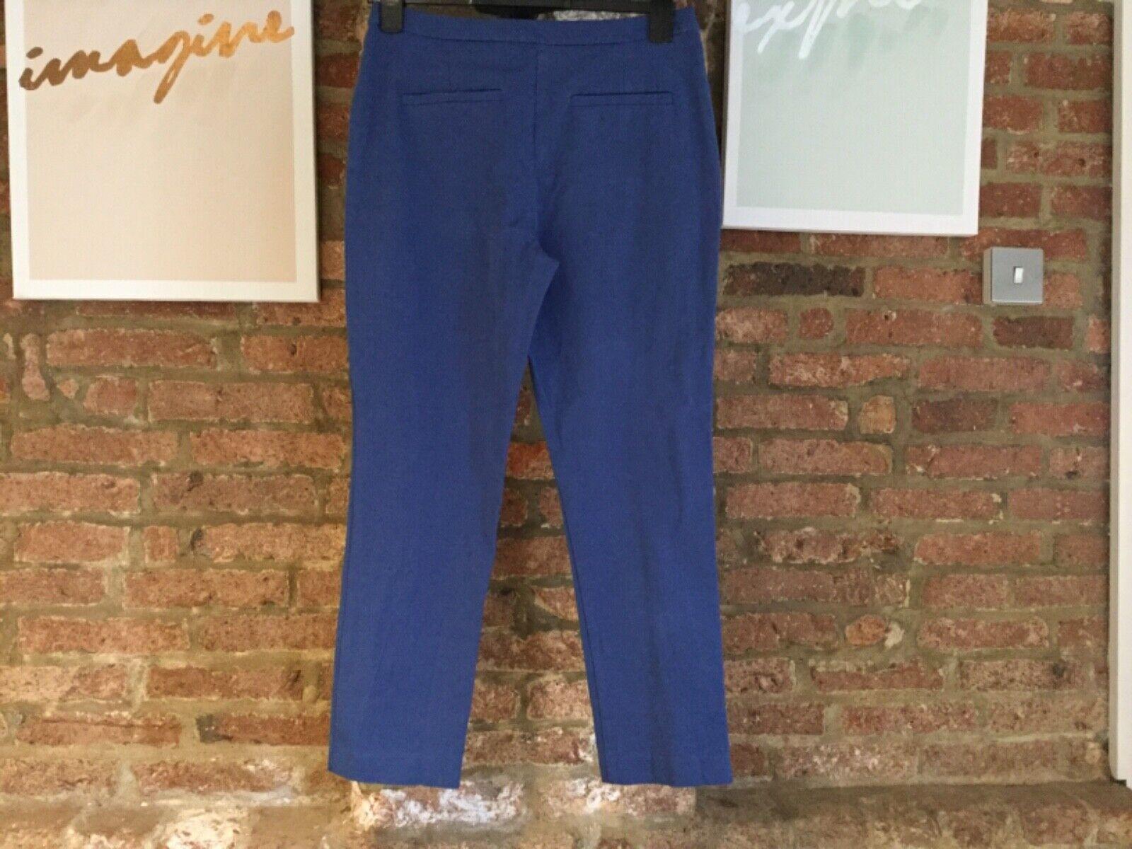 John John John Lewis & Partners Dionne Trousers in Blau UK10 56cdf3