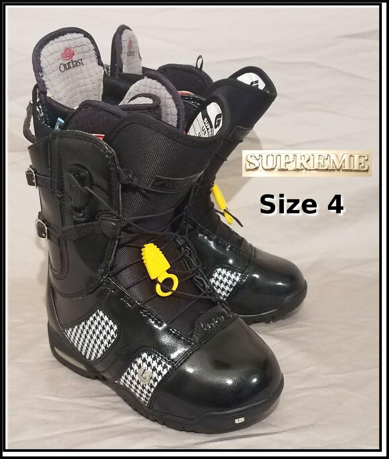 Burton Supreme Size 4 Snowboard Boots Women's Girl's Girls Womens Snowboarding 2
