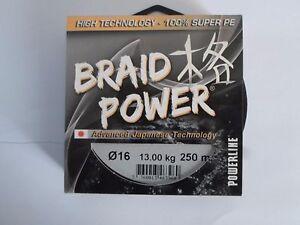 tresse-powerline-Braid-Power-Gris-250m-16-100-13kg