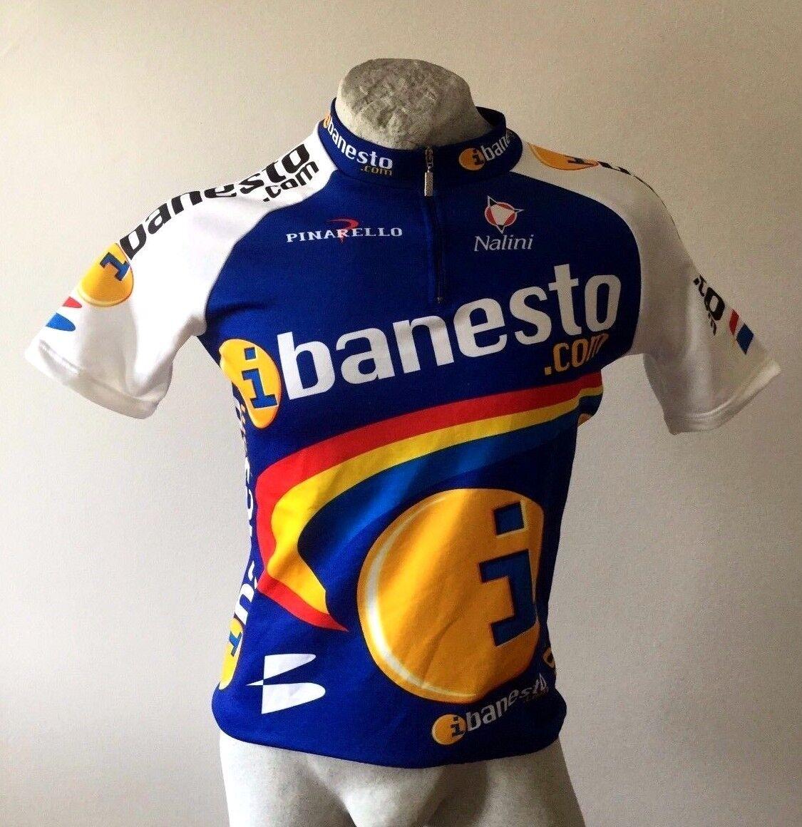 MAGLIA CICLISMO SHIRT BANESTO NALINI PINARELLO TRIKOT JERSEY SHIRT CICLISMO CYCLING VINTAGE 9c8ff4