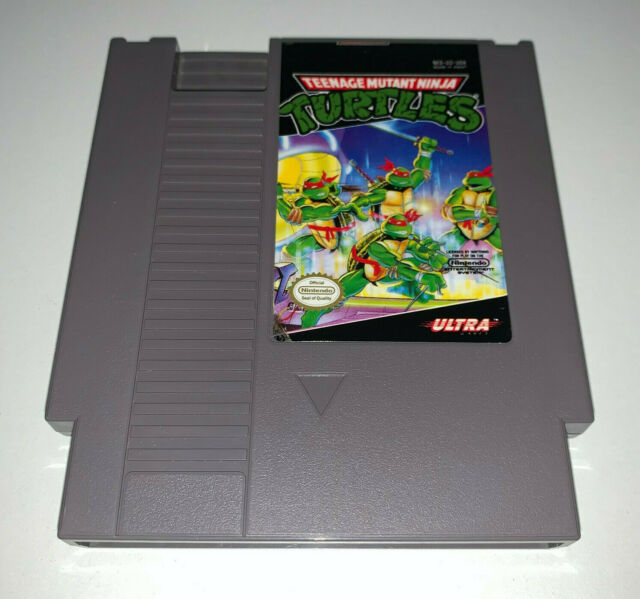 Teenage Mutant Ninja Turtles (Nintendo Entertainment System, 1989) Cart Only