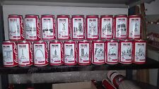 """Lattine da collezione Coca Cola """"Le città delle Olimpiadi"""" Barcellona 92'"""