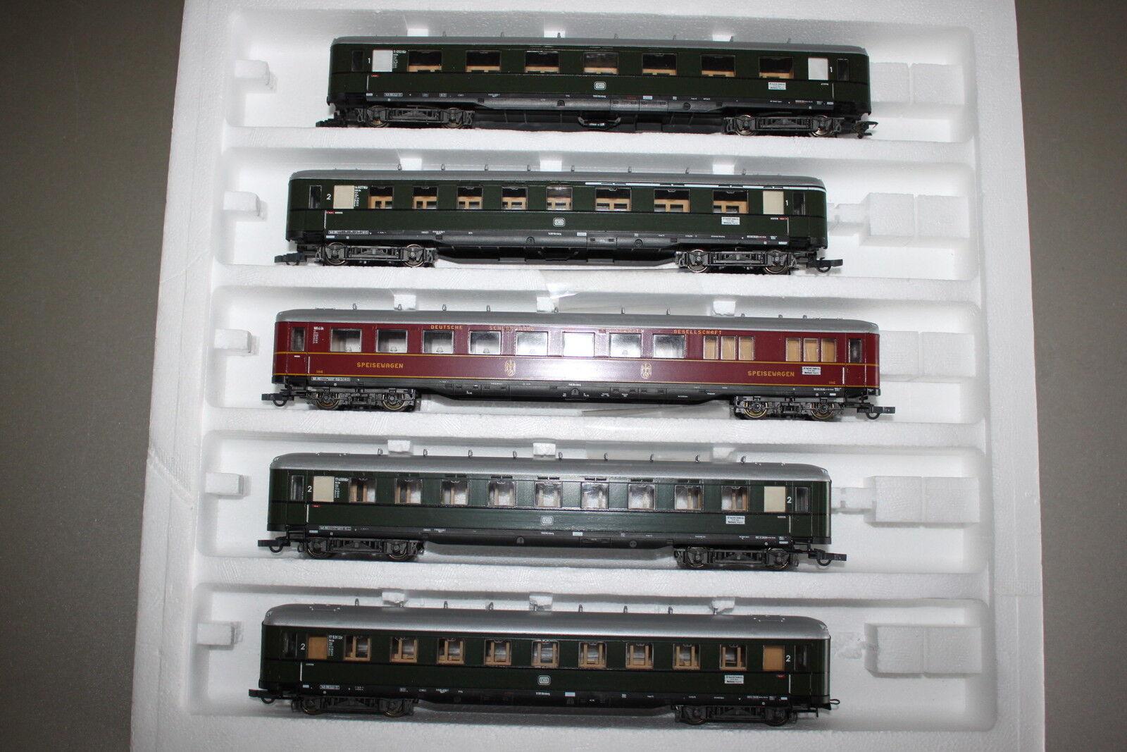 Liliput 834 personuovoagen-Set 150 anni ferrovie tedesche 5 pezzi traccia h0 OVP