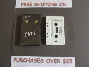 CATS-COMPLETE-BROADWAY-CAST-RECORDING-SOUNDTRACK-CASSETTE-one-ONLY-C-12