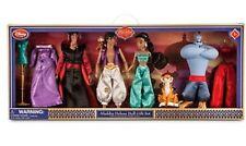 DISNEY STORE Aladdin & Jasmine & Jafar ++ Deluxe Doll Gift Set NEW FOR 2015