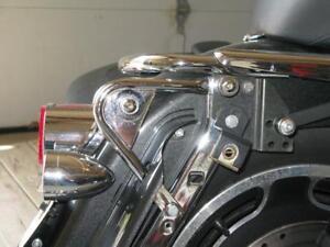 Chrome-Tour-Pak-Pack-Mount-Rack-Docking-Hardware-Kit-for-Harley-Touring-97-08