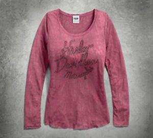 Leopard Top davidson® Harley Genuine Womans Burnout Knit qpt8KUzx