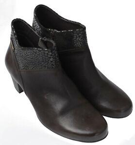 Ladies-Casual-Ankle-Boot-Mephisto-Michaela-Dark-Brown-UK-Size-5