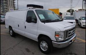 2013 Ford E 350 Reefer Cargo Van