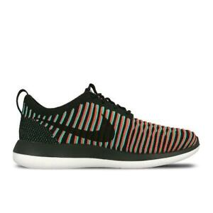 FLYKNIT 844833003 Running NIKE Details TWO Mens ROSHE Black Trainers zu jARLq354