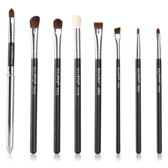 Makeup 8pcs Brushes Set Powder Foundation Eyeshadow Eyeliner Lip Brush Tool