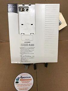 freqrol a500 mitsubishi fr a520 5 5k inverter 5 5kw 7 5hp 24a 230v rh ebay com mitsubishi inverter a500 manual pdf mitsubishi freqrol a500 inverter manual
