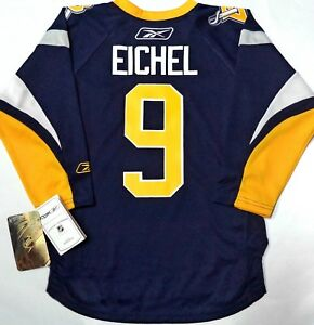 new product 4025a 9c900 Details about JACK EICHEL RETRO BUFFALO SABRES 4-7T TODDLER/BOY NHL  LICENSED REEBOK JERSEY