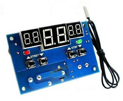 DC12V 10A Intelligent digital display thermostat Temperature Controller Switch