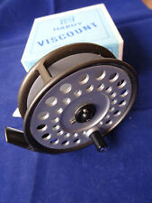 """A STUNNING UNFISHED BOXED 3 9/16"""" HARDY VISCOUNT 140 TROUT FLY REEL"""
