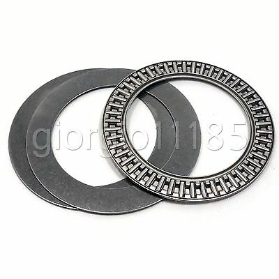 AXK1024 10x24 Needle Roller Thrust Bearing complete with 2 AS washers 10 pcs