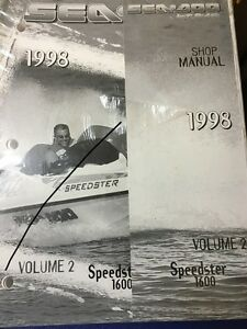GENUINE-SEA-DOO-VOLUME-2-SHOP-MANUAL-FOR-SPEEDSTER-1600-P219100077