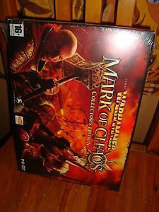 PC-CD-Rom-Warhammer-Mark-of-the-Chaos-RARE-COLLECTOR-NEUF-amp-BLISTER-Fr