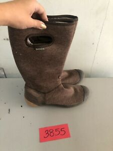 Bogs 6 Brown Summit Boots Soft Washable Waterproof womens size 7