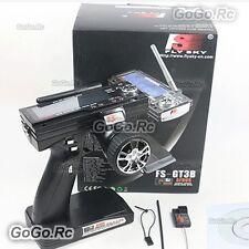FlySky FS-GT3B 2.4G 3CH LED Transmitter & Receiver Radio Control RC Car Boat Box