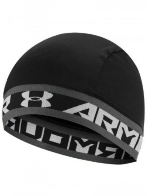 4681c4e6 Under Armour Boy's UA Basic Skull Cap Black 1262206 for sale online ...