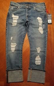 Womens vita Blues True Liv bassa e Nwt 00 a Jeans Religion Revival rilassati 229 skinny HwqxBIR