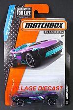 2014 Matchbox #67 Whiplash™ PURPLE METALLIC/MOC