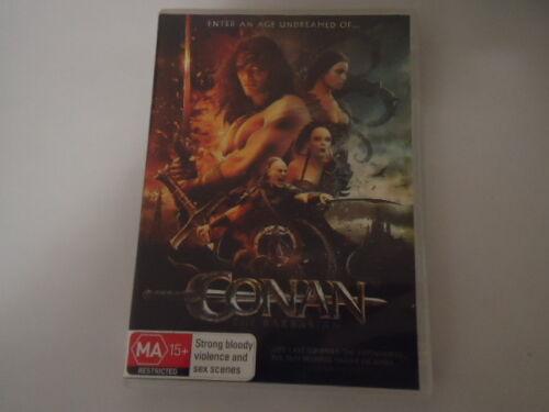 1 of 1 - DVD Conan The Barbarian 2011 - Ex Rental (Acceptable Condition)