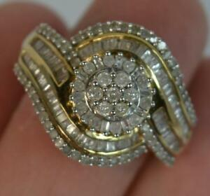 Large-Bling-1-00ct-Diamond-Solid-Silver-Cluster-Ring