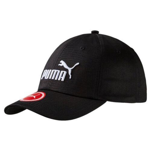 Puma Essential Cap Unisex Kappe Herren Frauen schwarz Größe Adult