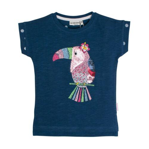 3112245 Salt /& Pepper Mädchen Tshirt T Shirt Tukan Pailetten Neu Gr 104-146 b