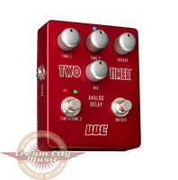 Brand Bbe Two Timer Delay Guitar Effect Pedal