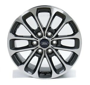 Ford F150 Wheels >> Details About 4 New Takeoff Ford F150 Fx4 18 Factory Oem Gray Machined Wheels Rims 2004 20
