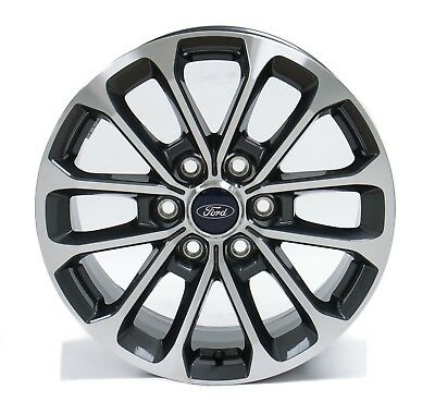 Ford F150 Wheels >> 4 New Takeoff Ford F150 Fx4 18 Factory Oem Gray Machined Wheels Rims 2004 20 Ebay