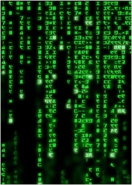 272071 The Matrix Code Classic Movie PRINT GLOSSY POSTER ...