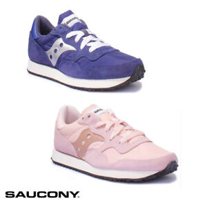 Saucony Pink and Blue Jazz Original Vintage Sneakers | my