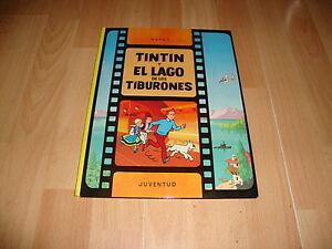 TINTIN Y EL LAGO DE LOS TIBURONES LAS AVENTURAS DE TINTIN