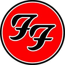 "4"" Foo Fighters Decal Sticker Car Truck Window Bumper USA tool box Concert Music"