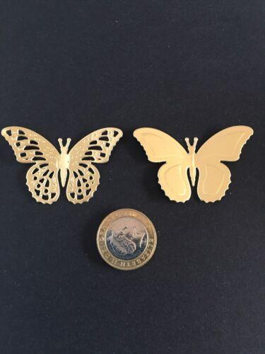 gsm carte x 8 dans plusieurs couleurs Butterfly die cuts in 220