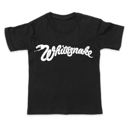 Baby Toddler Kids T-Shirt Tee WHITESNAKE ROCK METAL MUSIC BAND