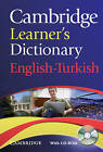Cambridge Learner's Dictionary English-Turkish with CD-ROM by Cambridge University Press (Mixed media product, 2009)