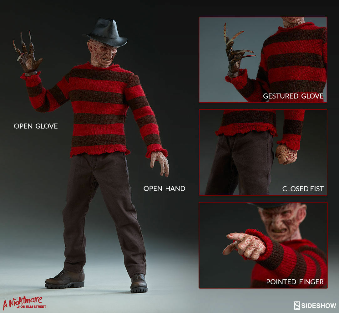 A Nightmare  on Elm Street 3 Frossody Krueger 1 6 by Sidemostrare Collectibles modellololo  negozio di vendita outlet