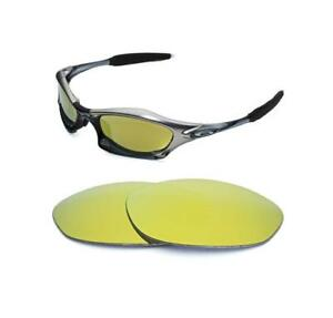 Details About Gold Oakley Replacement Splice Polarized Lens Sunglasses 24k New For EH9YW2ID