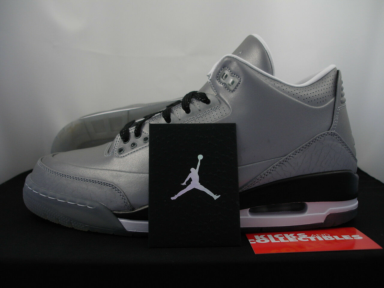 2018 Nike Air Jordan 5Lab3 Retro 3 9.5 Silver Reflective IN HAND 631603-003 The latest discount shoes for men and women