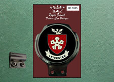 Royale Classic Car Badge & Bar Clip LEICESTER CITY Lambretta Vespa B1.1085