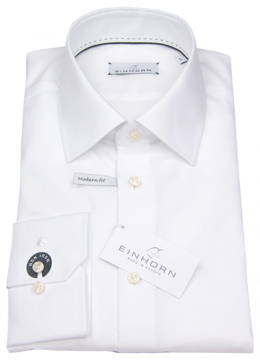 Einhorn Herren Hemd Modern Fit Jamie weiß 0854.11305 1