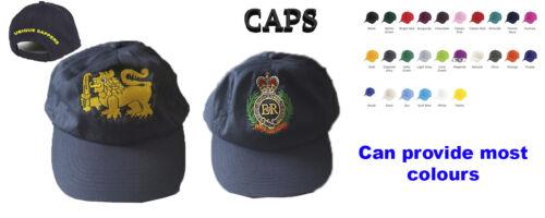 Royal Engineers Embroidered Baseball Cap
