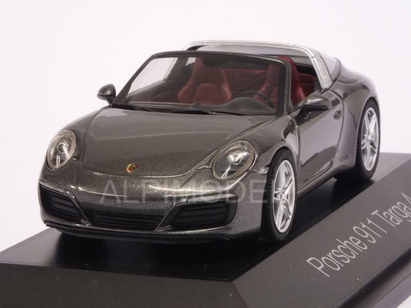 Porsche 911 Targa 4 2017 Gris Metallic 1 43 HERPA 71154